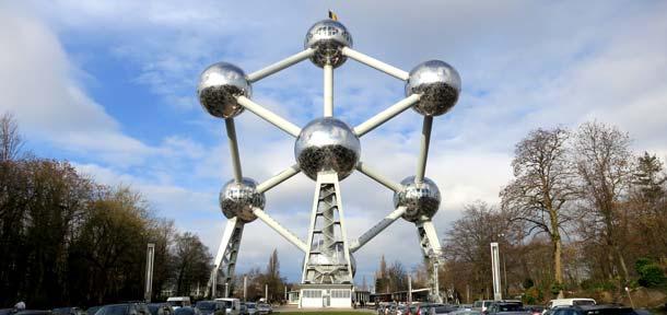 L'atomium di Bruxelles - foto Fermata Spettacolo